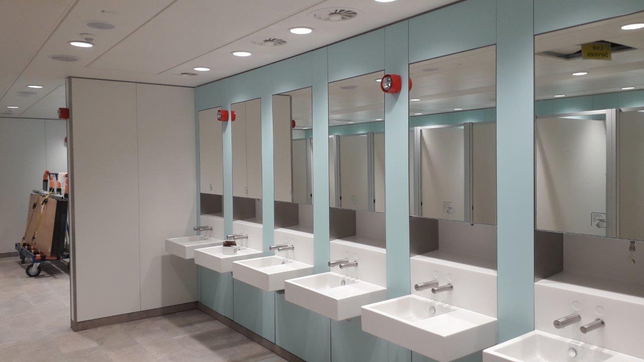 Build-Dec Commercial Toilet Refurbishment 2