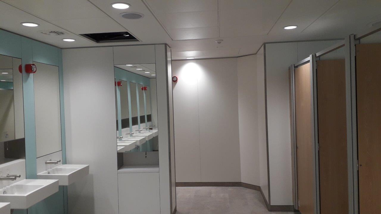 Build-Dec Commercial Toilet Refurbishment 4