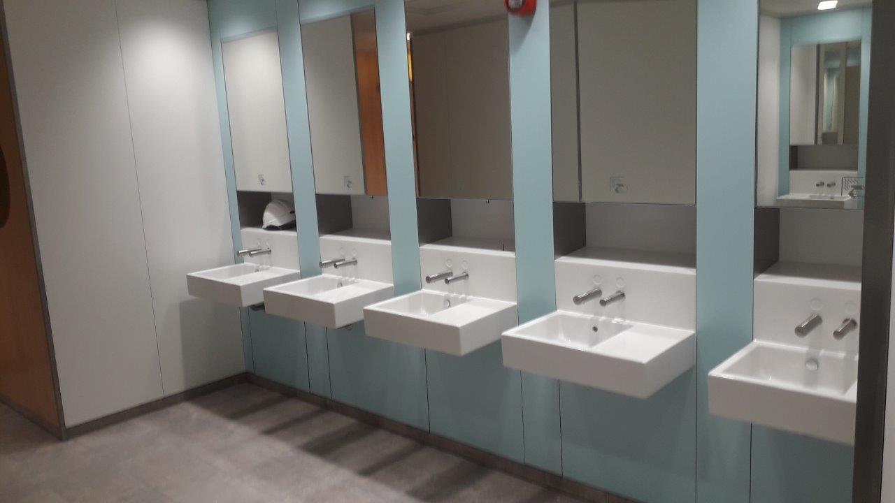 Build-Dec Commercial Toilet Refurbishment 8